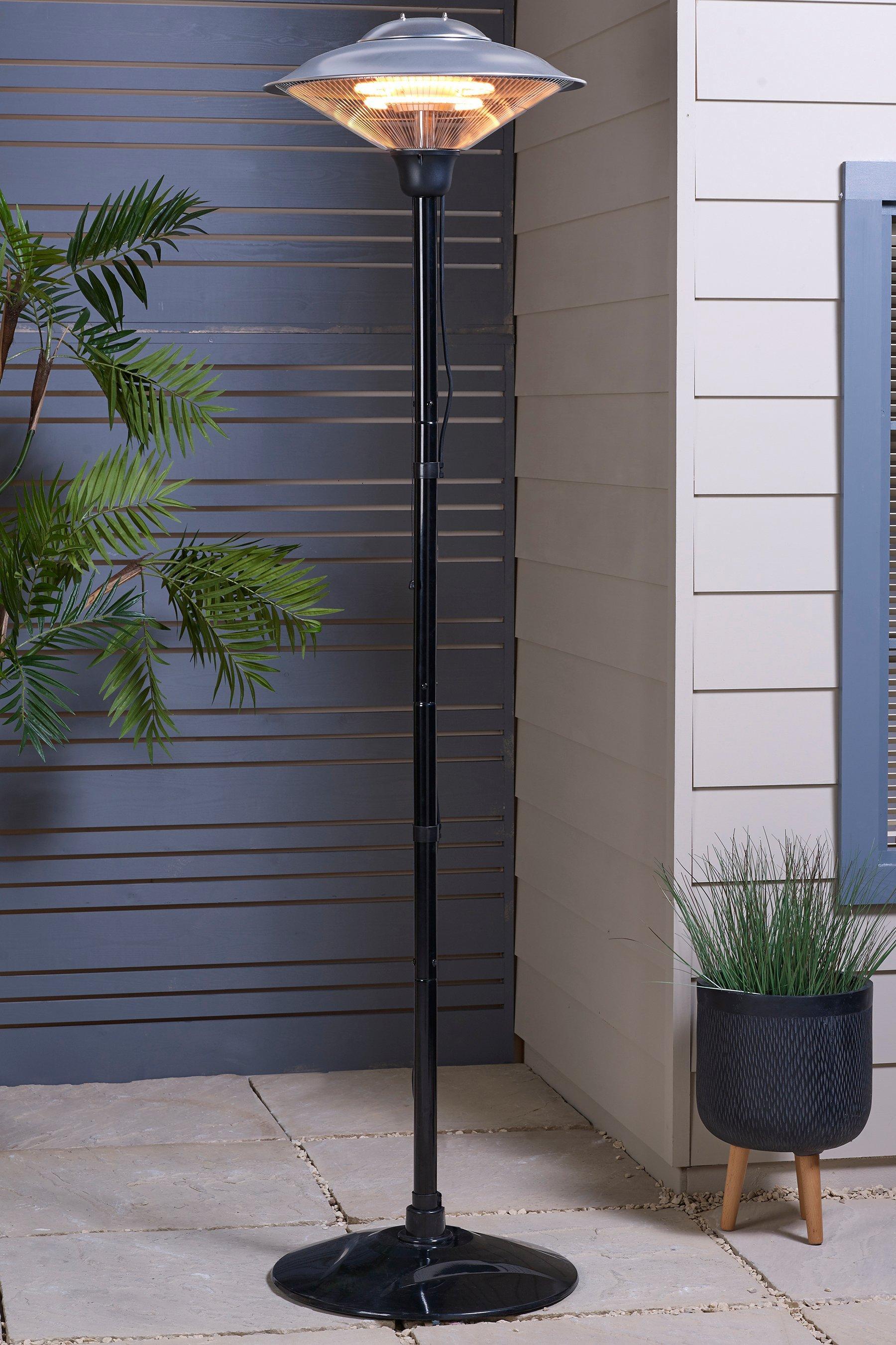 standing patio heater
