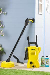 Karcher 1400W K2 Pressure Washer With Patio Cleaner | Studio