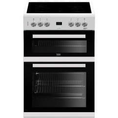 Beko Electric Cooker Wiring Diagram Craftsman Chainsaw Fuel Line Routing Edc633w 60cm Double Oven With Ceramic Hob White A Rated