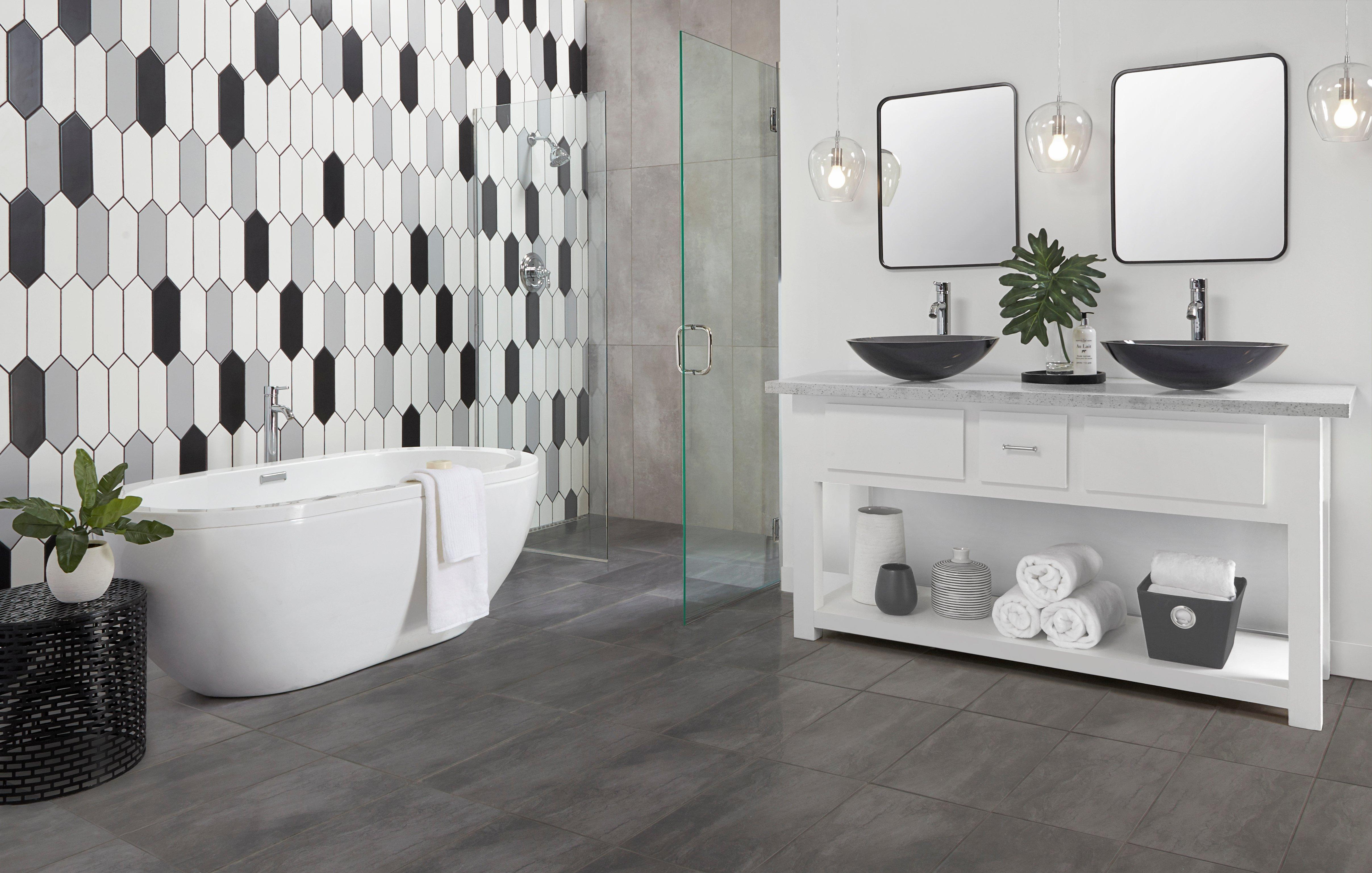 Tile For Bathroom Contemporary Gallery Floor Decor