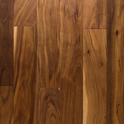 Small Leaf Acacia Hand Scraped Engineered Hardwood 1 2In X 6In | Floor And Decor Wood Stair Treads | Carpet | Unfinished Pine | Engineered Hardwood | Stair Riser | Basement Stairs
