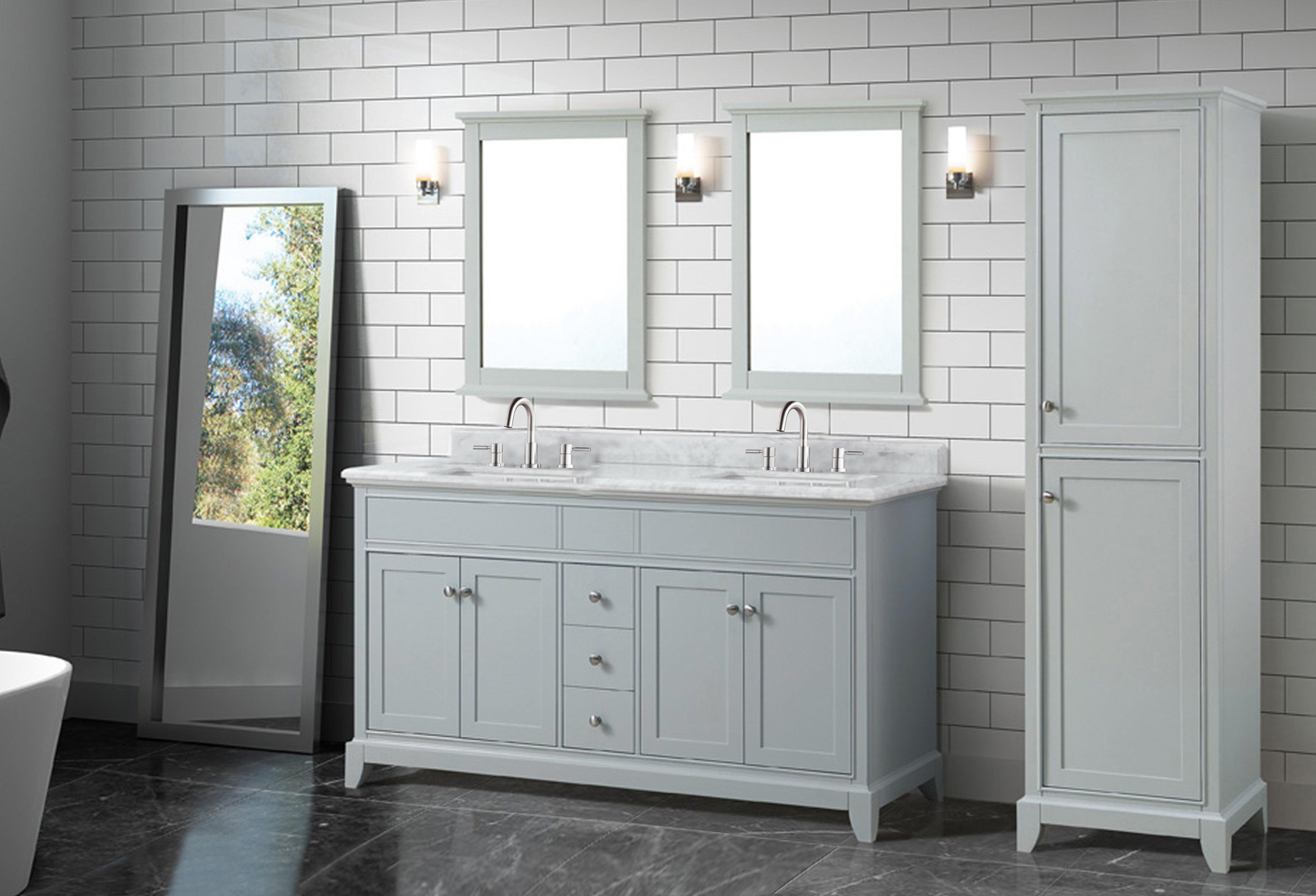 How To Choose A Bathroom Vanity Floor Decor