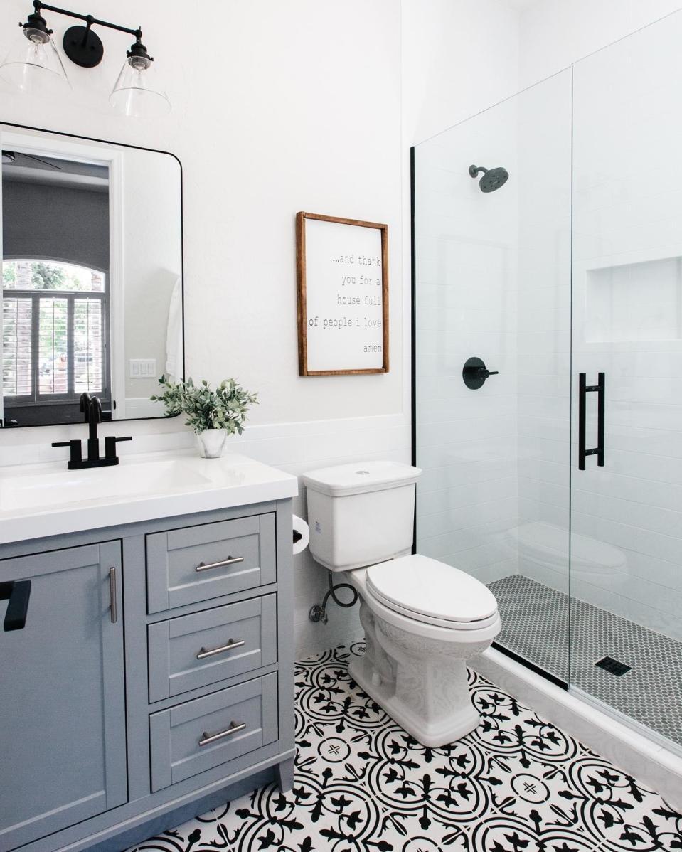 small bathroom feel bigger