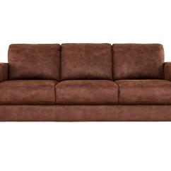 Furniture Village Sofa Bed Dante Extra Long Couch Brown Fabric Baci Living Room