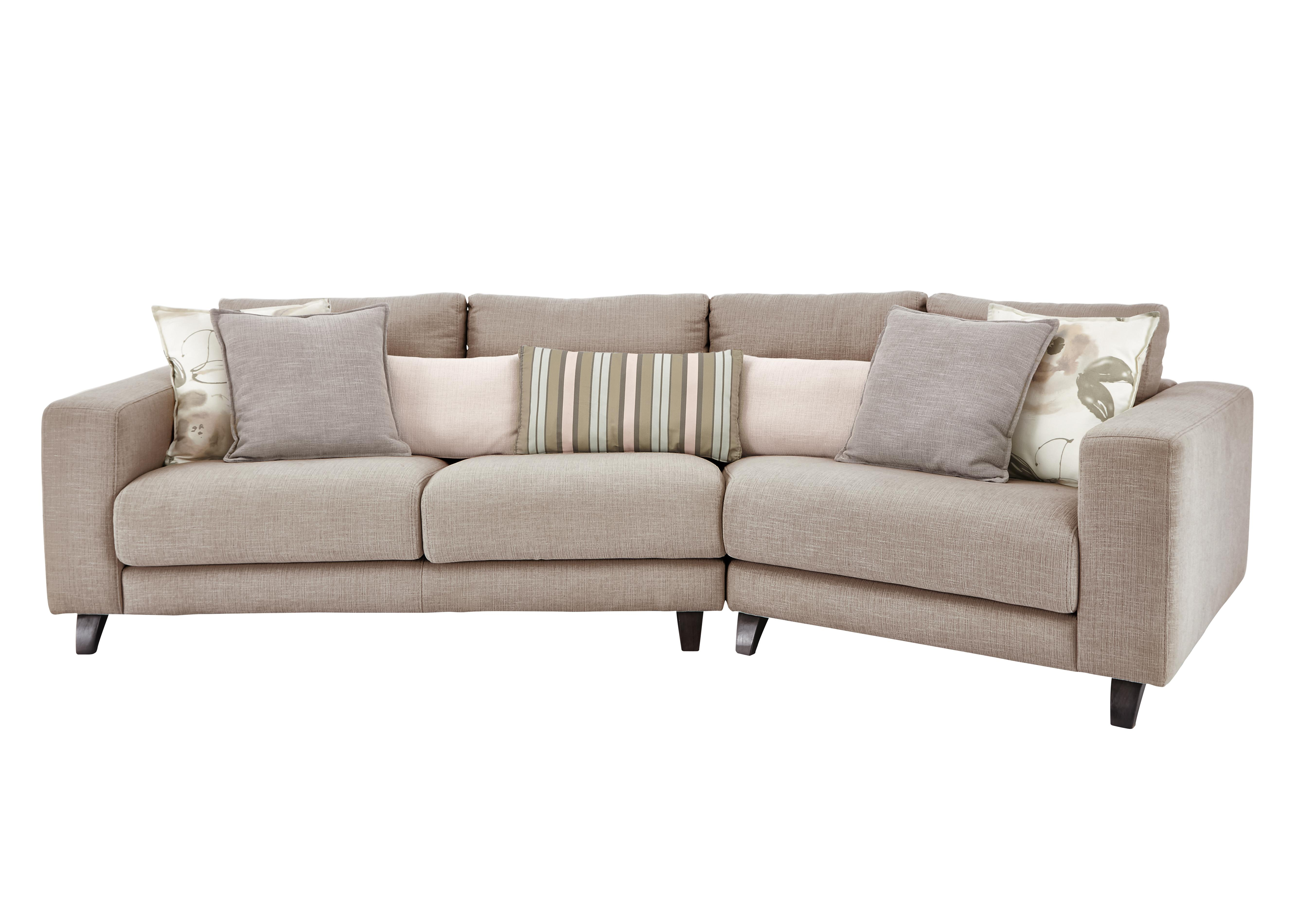 kick k angled fabric sofa furniture
