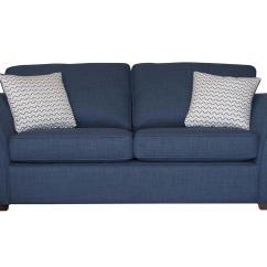 2 Seater Sofa Bed Furniture Village Bernhardt London Club Leather Twilight Fabric