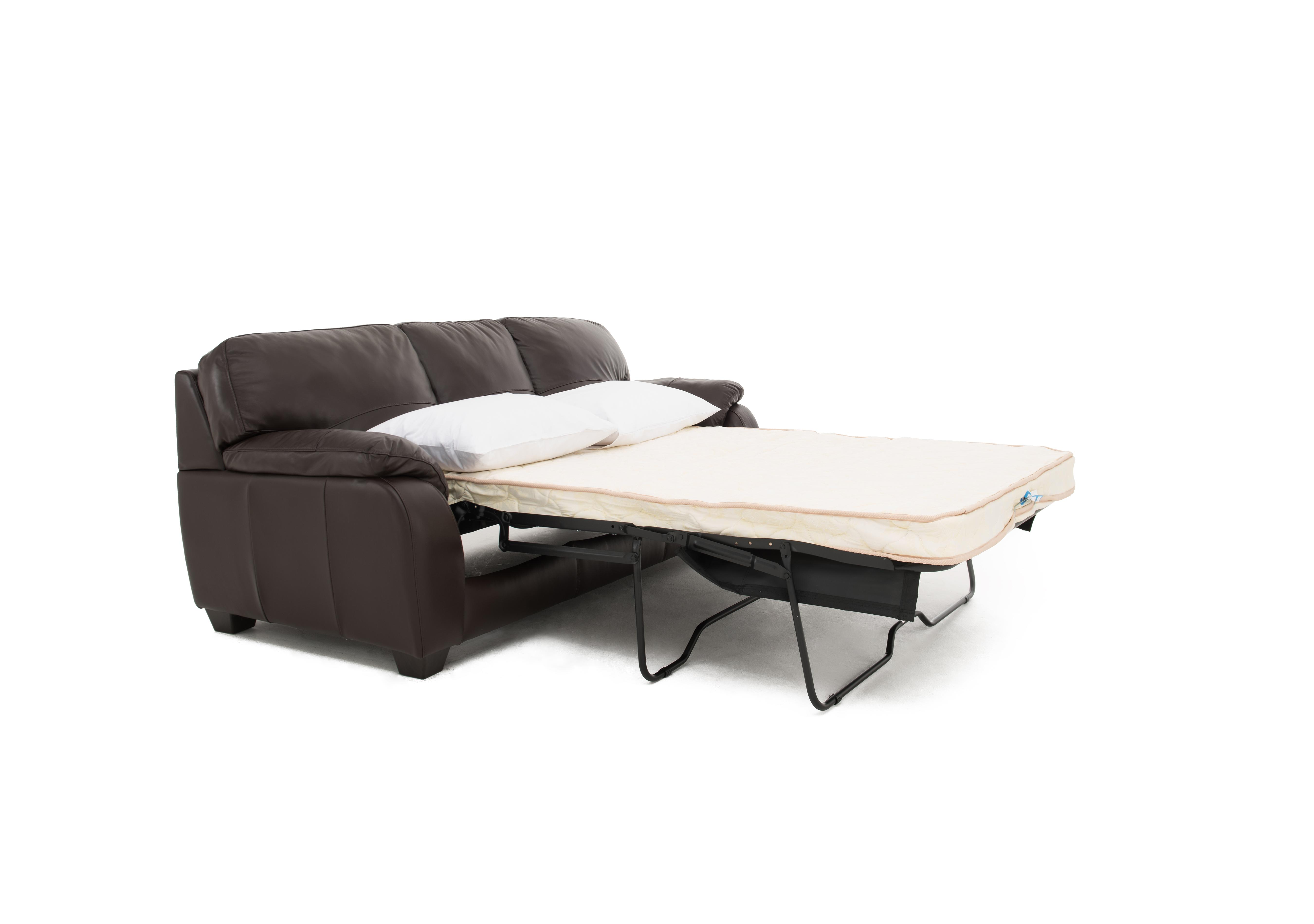 moods 3 seater leather sofa bed costco ca world of furniture village