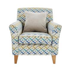 3 Seater Recliner Sofa Sale Dino Corner Reviews Copenhagen Fabric Accent Armchair - Furniture Village
