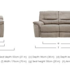 Htl Sofa Stockists Uk L Shaped Gumtree Cardiff Relax Station Bliss 2 Seater Fabric Recliner Furniture Village Dimensions