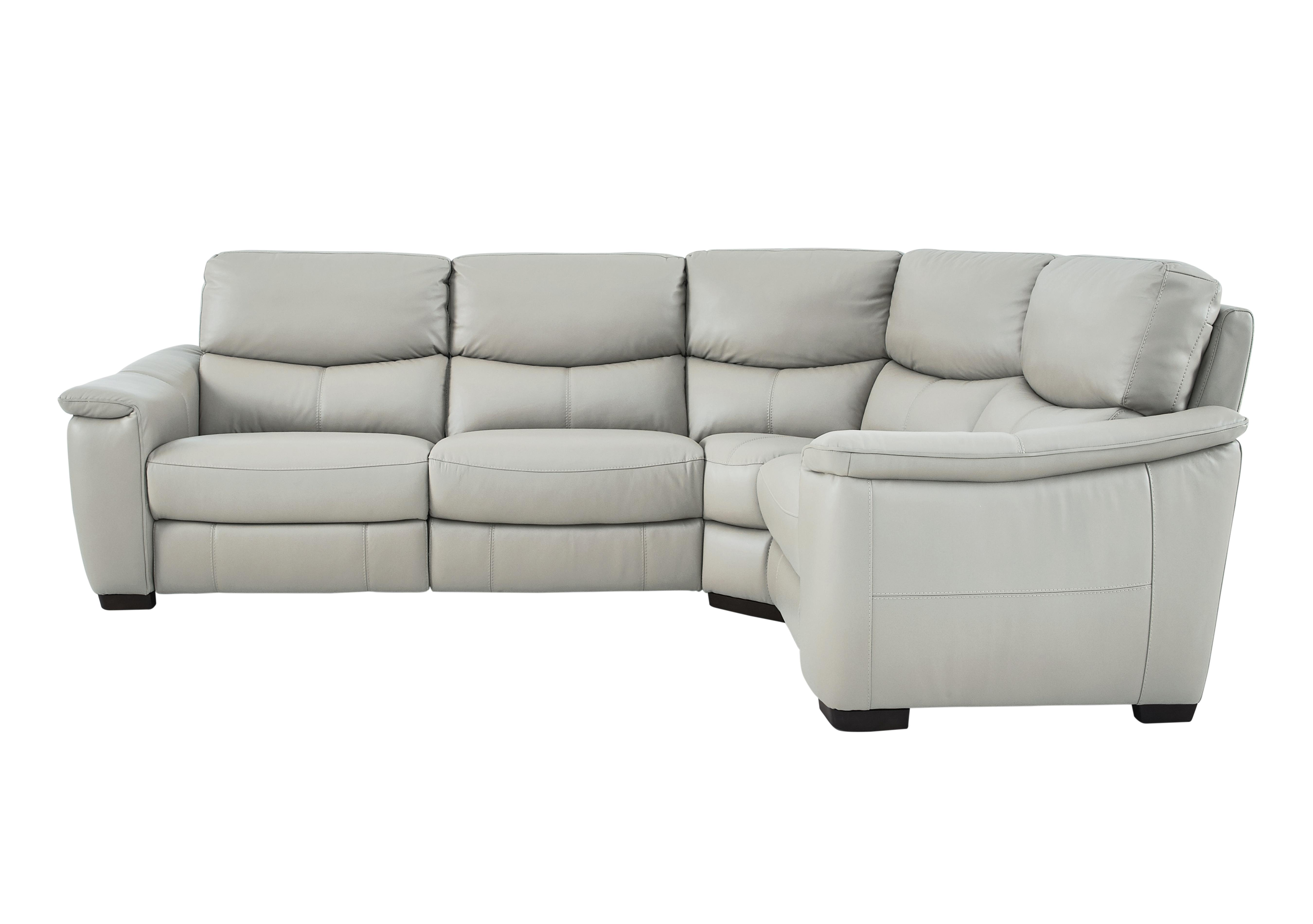 furniture village leather corner sofa bed simmons upholstery harbortown reviews flex recliner only one left