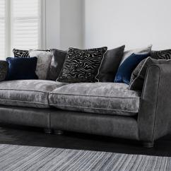 Black 3 Seater Sofa And Cuddle Chair Cleaning S For Sofas 4 Large Furniture Village Save 564 Inspiration Pillow Back