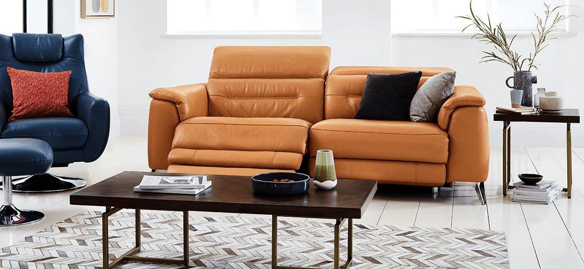 furniture village leather corner sofa bed mercadolibre argentina cama sofas for sale uk small house interior design world of