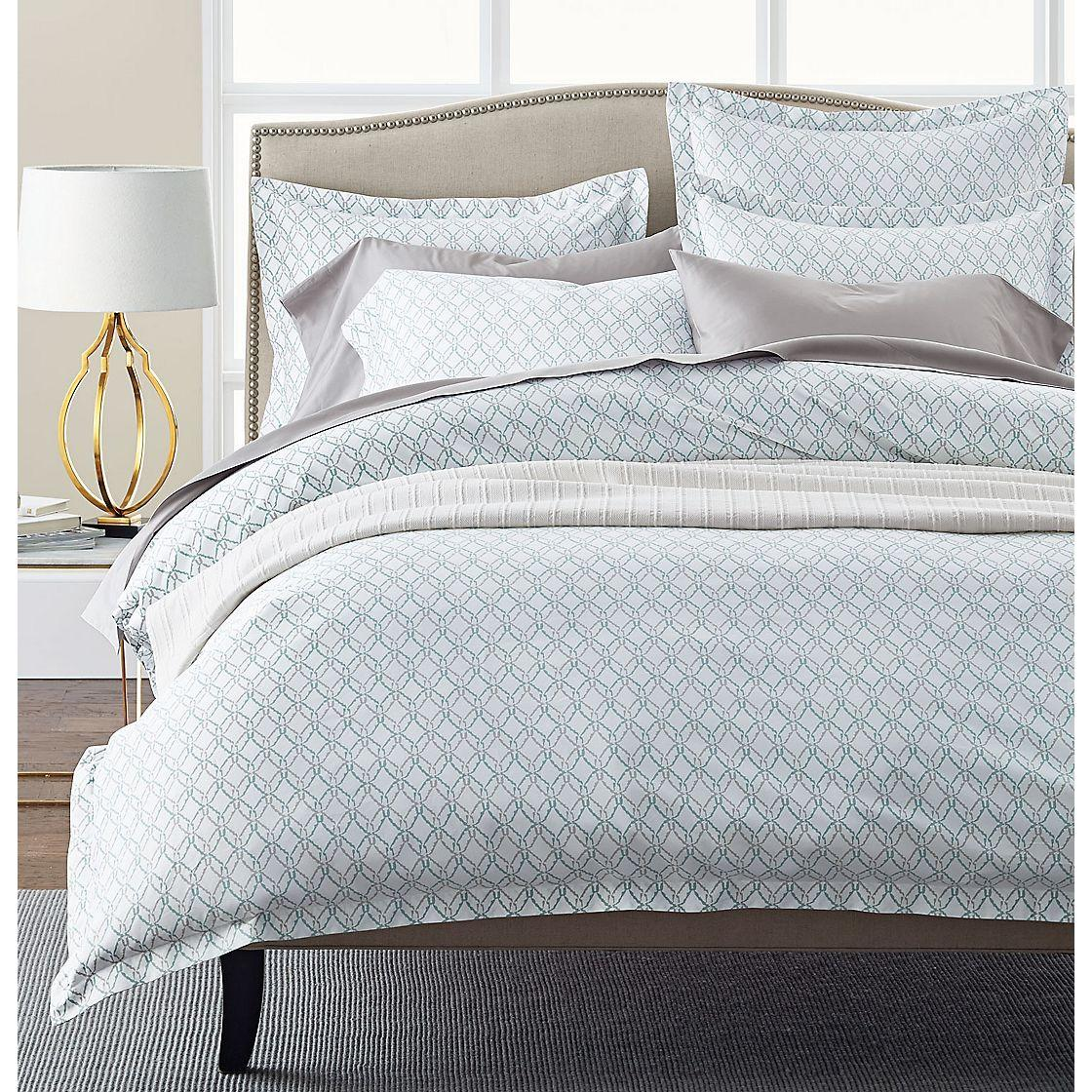 Legends Trellis Turquoise Sateen Sheets Bedding Company Store