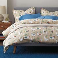 Llama Land 5 oz. Flannel Sheets & Bedding Set