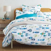 Fish Tale Percale Sheets & Bedding Set