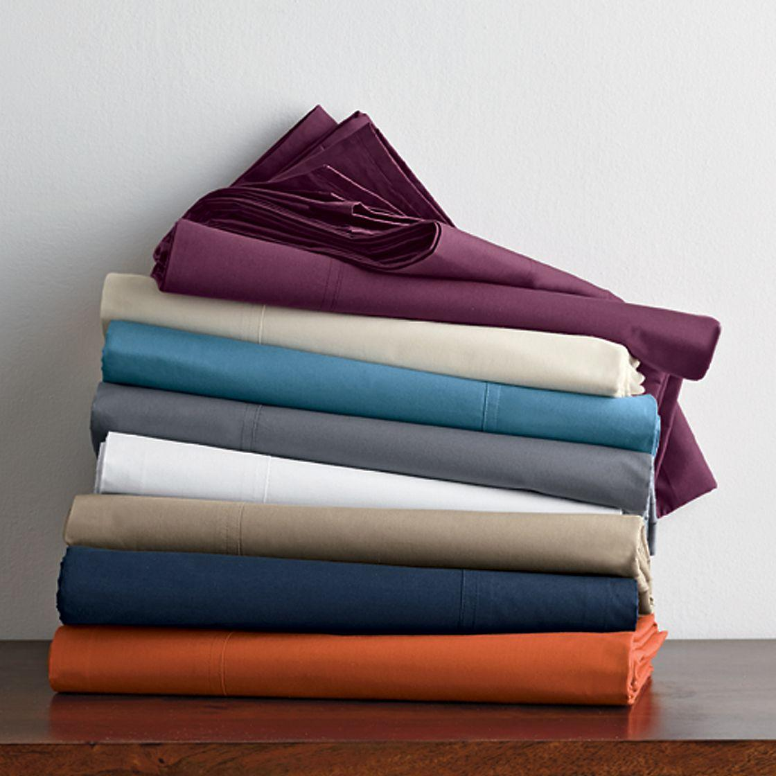 400Thread Count Percale Deep Sheets The Company Store