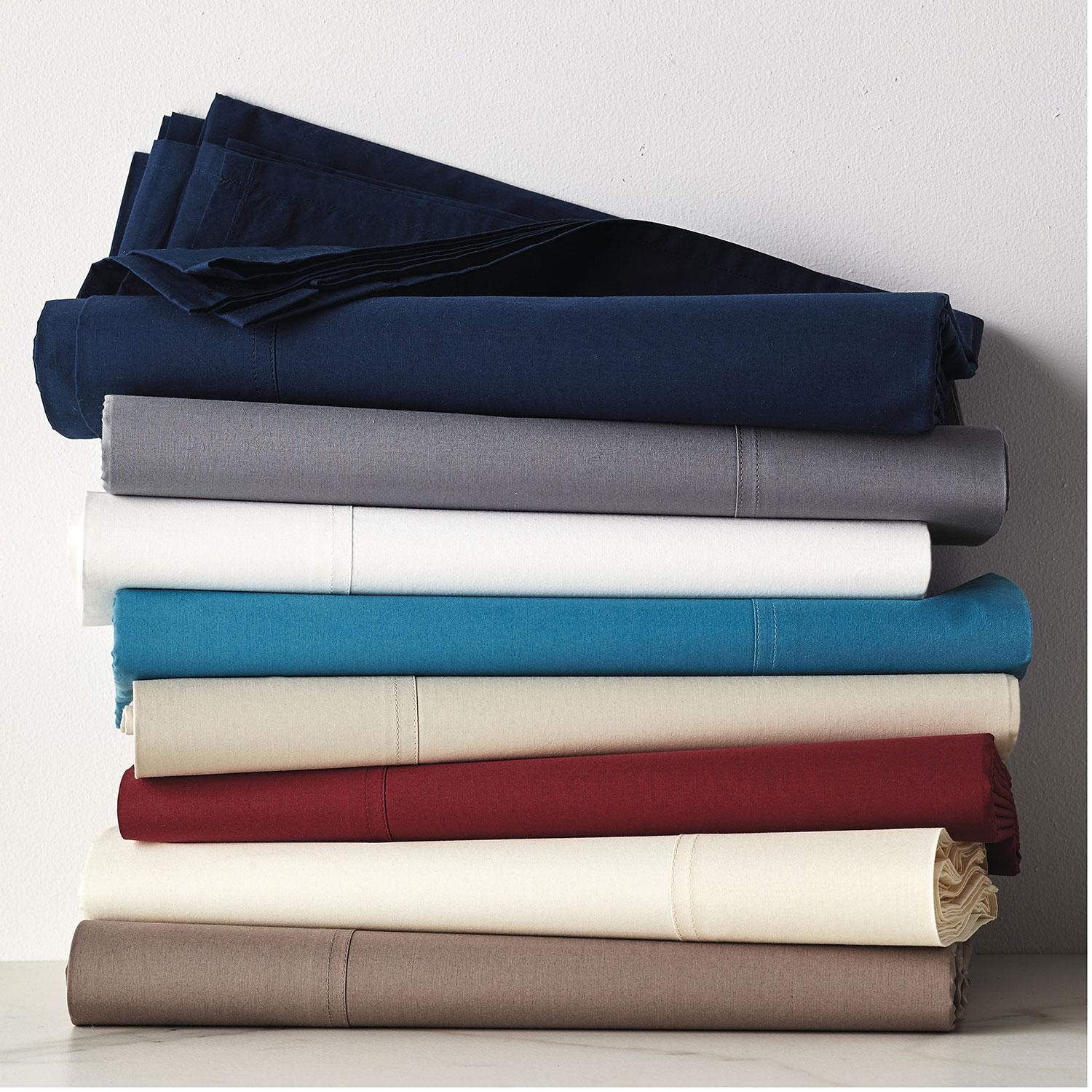 400Thread Count Supima Percale Sheets The Company Store