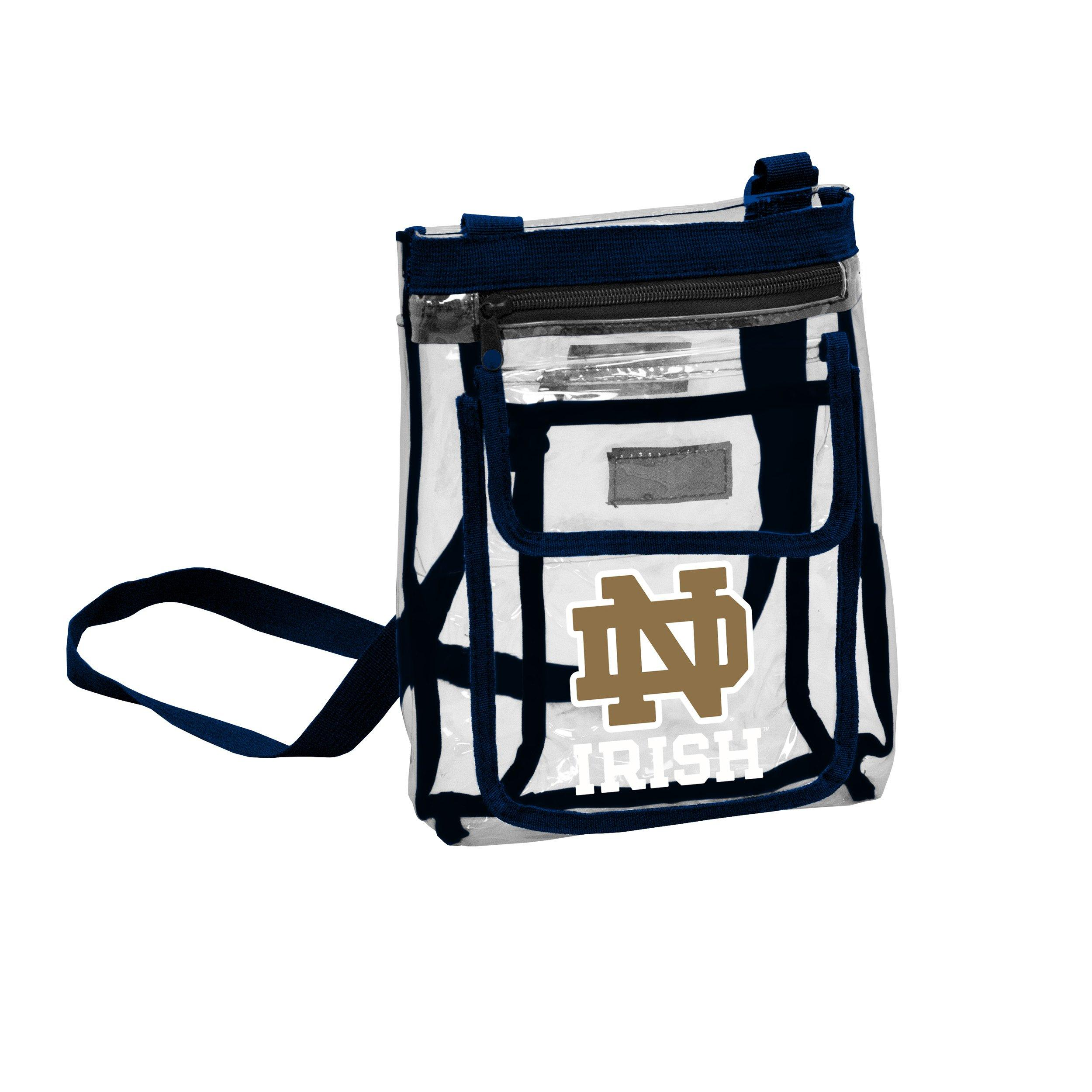 notre dame chair ergonomic drawing logo company fighting irish gameday crossbody bag main container image 1