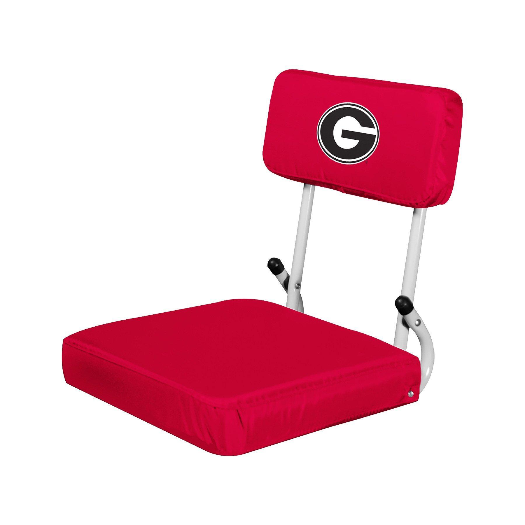 georgia chair company swivel new zealand logo bulldogs hardback stadium seat hibbett us main container image 1