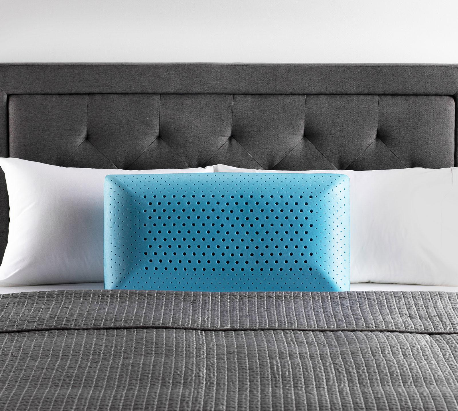 malouf malouf queen z zoned activedough gel mid loft pillow from mattress firm accuweather