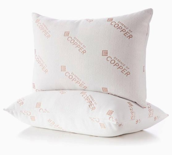 essence of copper pillows 2 pack