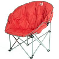 EUROHIKE Deluxe Moon Chair - Red | eBay