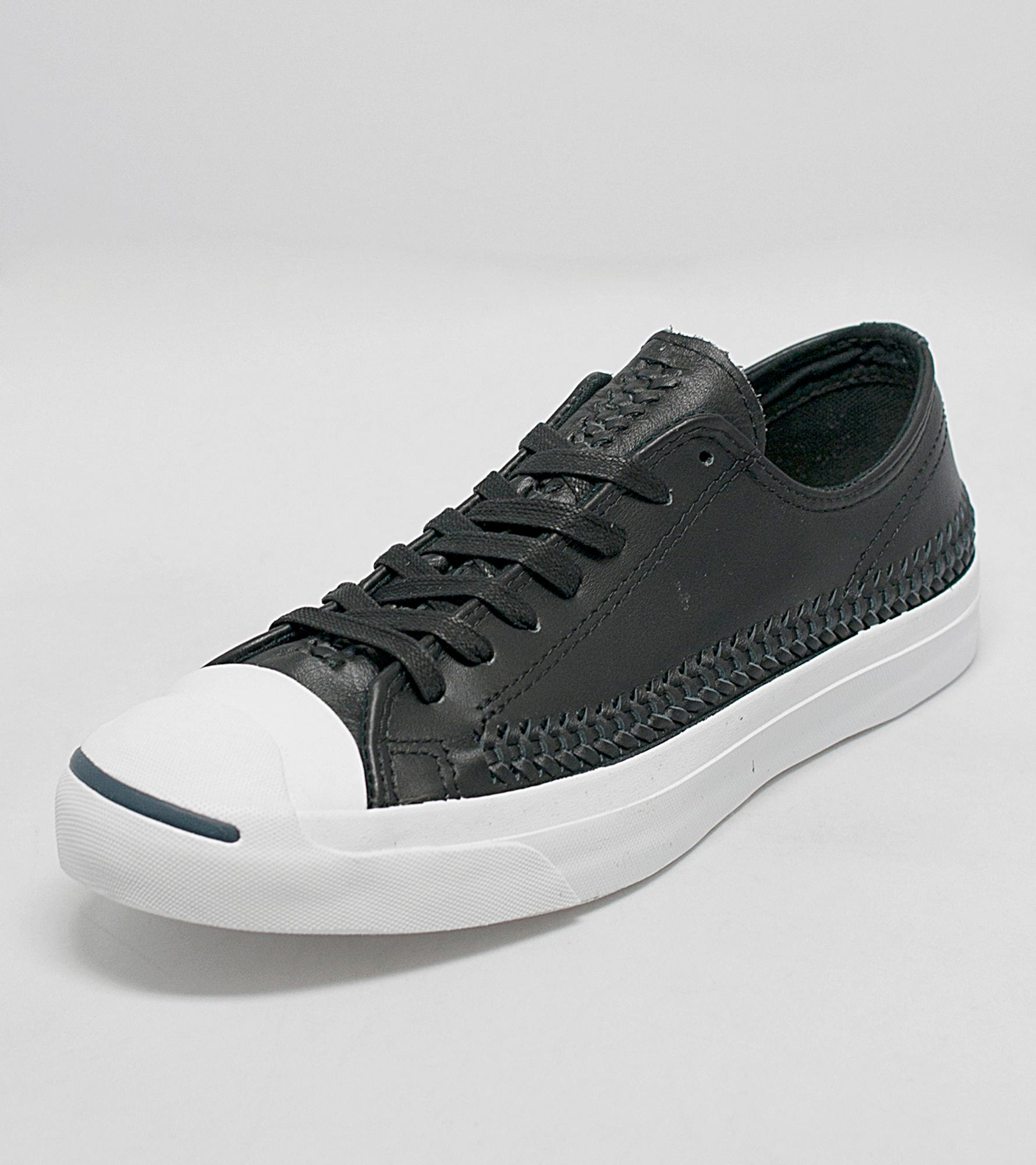 Converse Jack Purcell Signature Perforated Leather Size