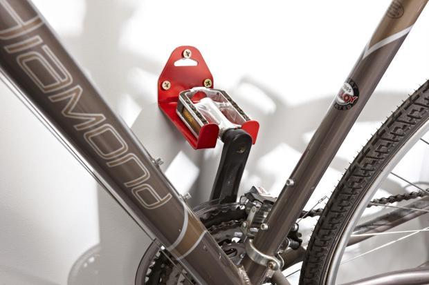mottez bike pedal wall mount