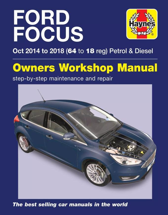 ford focus petrol diesel 14 18 manual