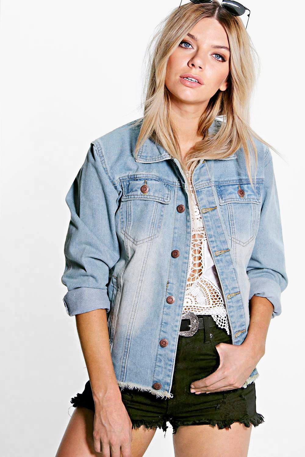 Image result for jane frayed denim jacket