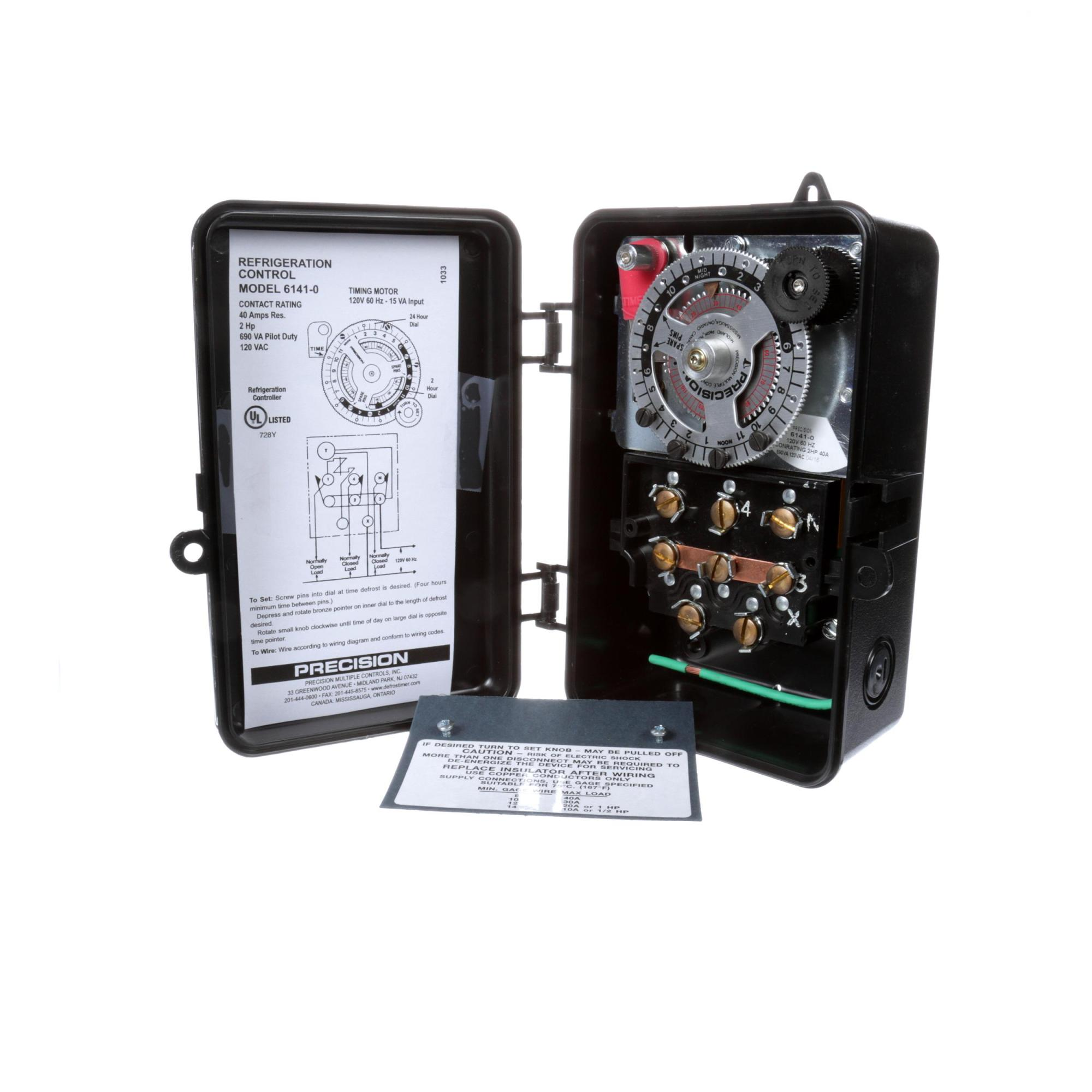 hight resolution of precision defrost cntrl timer