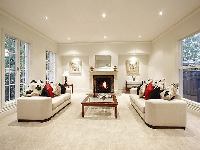 Cream living room idea from a real Australian home  Living Area photo 439159