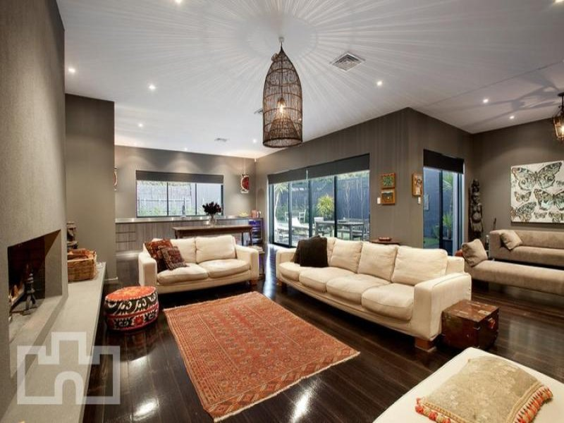 Grey living room idea from a real Australian home  Living Area photo 279321