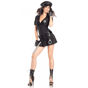 Mrs. Law Cop Costume - Sexy Police Officer Uniform Costumes