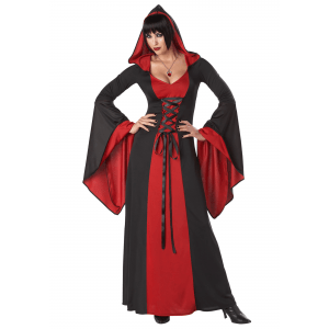 Women's Deluxe Hooded Robe