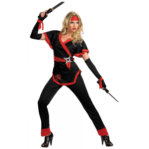 Dragon Lady Ninja Costume