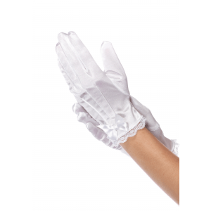 White Girls Gloves