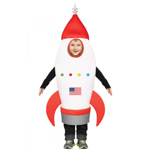 Child Rocket Ship Costume