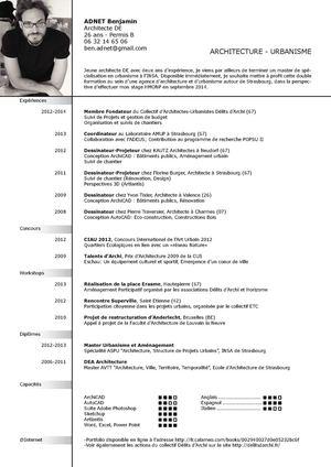 Calaméo CV Architecture Benjamin ADNET