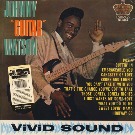 """Horns and a rolling piano played by ernie freeman (""""what you do to me"""", """"sweet lovin' mama""""),. Johnny Guitar Watson - Johnny Guitar Watson - Vinyl LP ..."""