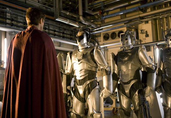 Rory meets the Cybermen