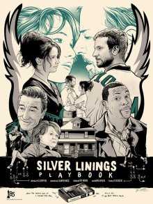Joshua Budich's artwork based on 2013 Oscars movie Silver Linings Playbook