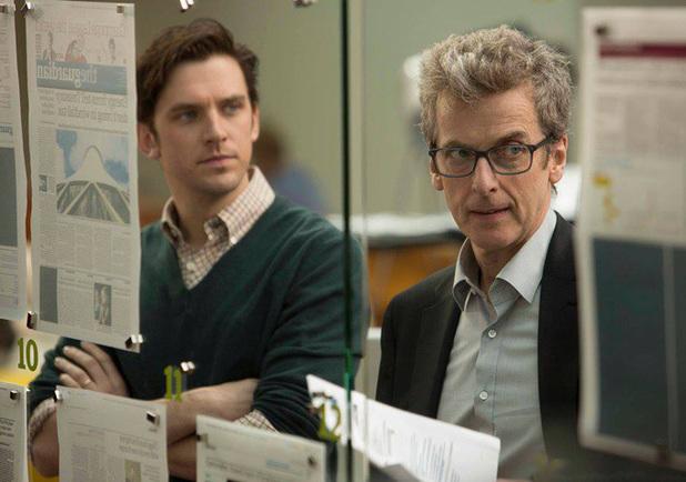 Dan Stevens and Peter Capaldi