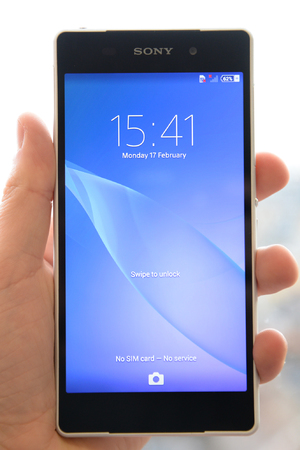 Sony Xperia Z2 phone