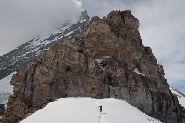 Jamie Andrew in The Limbless Mountaineer
