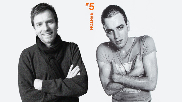 'Trainspotting' Then & now: Ewan McGregor as Mark Renton