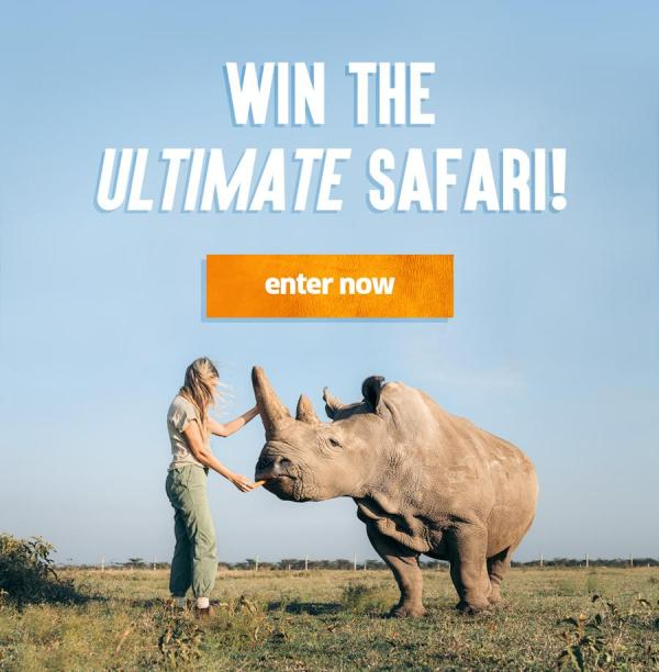 Win the Ultimate Safari