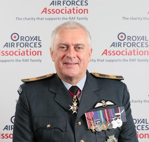 Sir Baz North: President, RAF Association