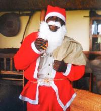 Josephat as Santa