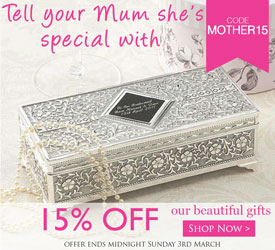 Mothers Day Gifts 15% Discount Image